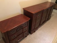 two brown wooden dressers Fairfax, 22030
