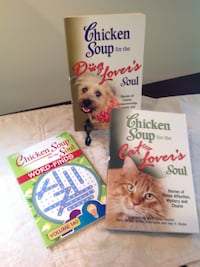 Chicken Soup Book lot- for the DOG lovers soul  & CAT Lovers Soul... Epping, 03042