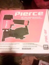 Pierce 15' coil roofing nailer