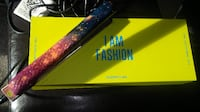 Galaxy colour hair straightener comes with box