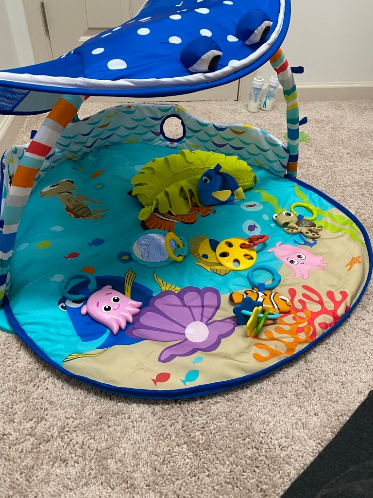 Photo Disney Baby Mr Ray Ocean lights and music gym