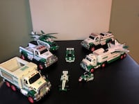 11 Hess truck vehicles