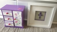 Girl's jewelry box and decorative cross picture Ooltewah, 37363