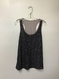 Women's EXPRESS sequin tank top… Size large