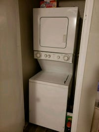 white stackable washer and dryer Oklahoma City, 73112