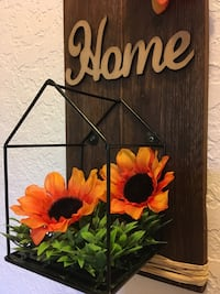 brown wooden home wall decor