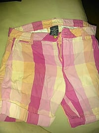 pink and white plaid shorts Evansville, 47710