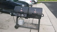 black and gray gas grill Severn