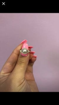 Silver beaded wire wrap ring  Newport News, 23601