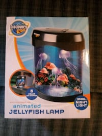 Discovery kids jellyfish lamp