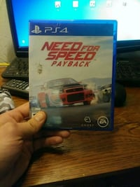 Need for Speed Rivals PS4 game case Englewood, 80110