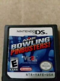 Nintendo DS AMF bowling pinbusters game