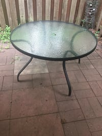 Outdoor glass table Springfield, 22152