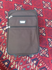 black and gray softside luggage Port Coquitlam