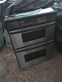 Black and grey electric oven Gilbert, 85233