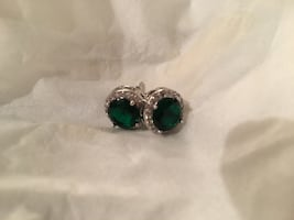 Cubic Zirconia - emerald green