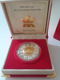 2004 Silver Lunar Coin - Year of the Monkey Toronto