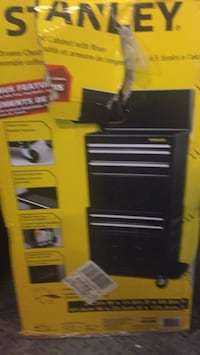 yellow and black tool cabinet Vaughan, L4H 1E2