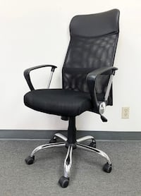 New $55 Executive Office Chair Black Mesh High Back Swivel Hydraulic Adjustable Computer Task Chairs South El Monte