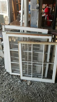 Old wooden windows 1, 2, 4, 6 panes