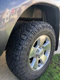 Goodyear Wrangler DuraTrac Tires new- hardly used. Selling all four.