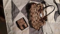 COACH DESIGNER HAND BAG AND WALLET Mississauga, L5V 2L5