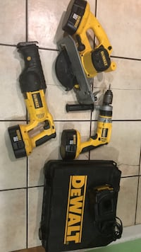 DeWalt cordless hand drill and impact wrench Sterling, 20164