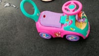 toddler's pink and green ride on toy car West Seneca, 14224