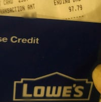Lowes gift card Prince George, V2M 1C8