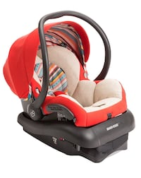 Baby's red and black car seat Maxi Cosi brand new never used  Yakima, 98902