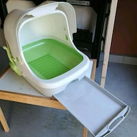 Cat Litter Box Purina Breeze Hooded System Olney