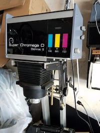 Simmon Omega DII Plus Super Chromega D Dichroic II Color Head Photo Enlarger Package