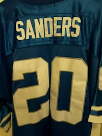 Authentic Mitchell & Ness Throwback Barry Sanders  Wichita, 67213
