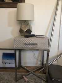 Nightstand (will sell with lamp and coasters) 152 km
