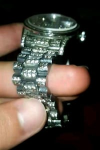 BRAND NEW WATCH ICED OUT CRYSTALS Mississauga, L5M 7W1