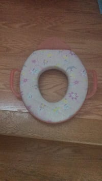 Potty seat for regular toilet training