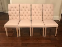 4 Tufted Dining Chairs Brandon, 39047