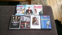 assorted-title DVD case lot , 252 20