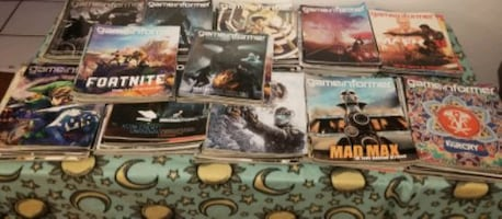Lot of 115 Game Informer Magazines Collection.