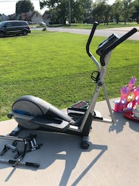 Black and gray elliptical trainer Clarksville, 37042