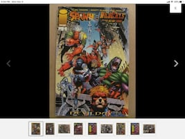 Spawn Wildcats #1  1996 Series Alan Moore