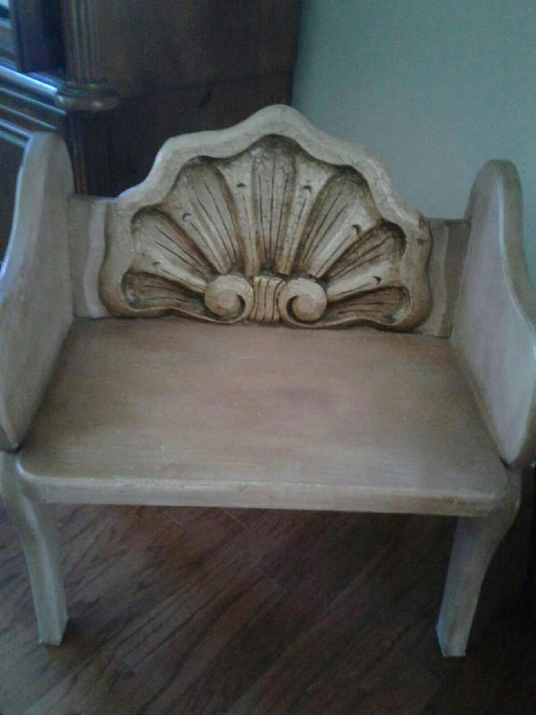0d2737e39b1 Used brown wooden armchair for sale in Alpharetta - letgo
