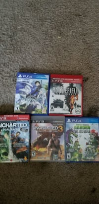 PS4 and PS3 games Salem, 97302