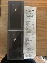 Brand new in box iPhone 8 64gb with receipt  Edmonton, T6W 2L6