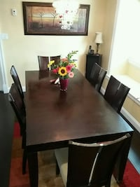 Dining Table and 6 chairs New Westminster, V3M 2M2