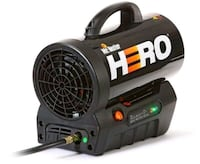 Mr. Heater 35,000 BTU Forced Air Propane Hero Heat Toronto
