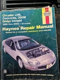 Haynes manual for Chrysler and Dodge small cars