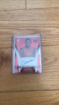 Bruno Caboclo SIGNED Rookie Card Vaughan, L6A 3S5