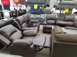 NO money down no credit needed 100 days no interest sofa loveseat and