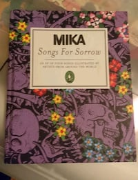 Mika Songs for Sorrow book Longueuil, J4J 1M4